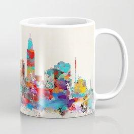 Lincoln Nebraska skyline Coffee Mug