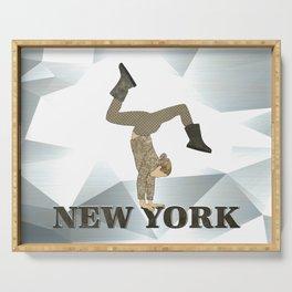 Gymnastics New York Serving Tray