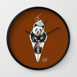 That's not an icecream cone Wall Clock