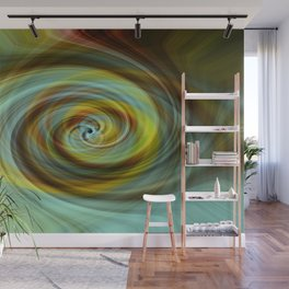 The Eye Wall Mural
