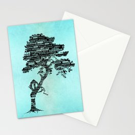 Bodhi Tree Stationery Cards