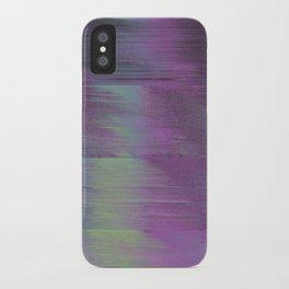 Glitch Haze #1 iPhone Case