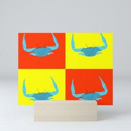 Bold Crabs Mini Art Print