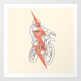 saetta Art Print