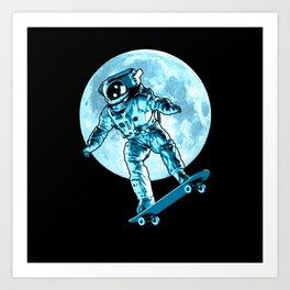 Astro Flip Art Print