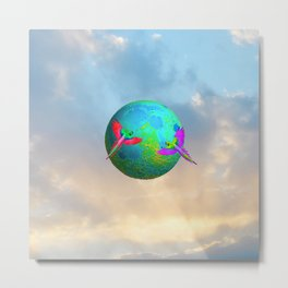 Gaia | Planet Earth into a New Dimension #society6 Metal Print