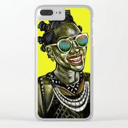 Jarosha Clear iPhone Case