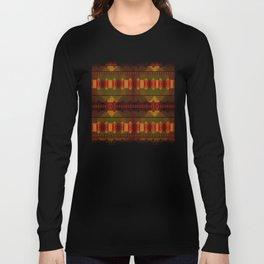 """Full Colors Tribal Pattern"" Long Sleeve T-shirt"