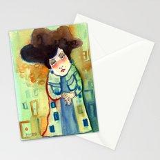 Lady Stationery Cards