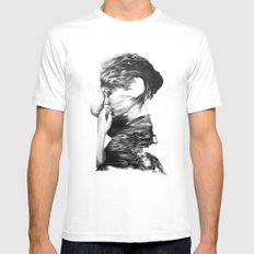 The Sea and the Rhythm // Illustration MEDIUM Mens Fitted Tee White