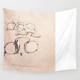 The specs cleaner Wall Tapestry