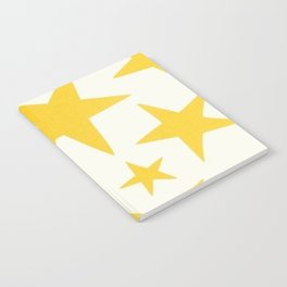 yellow stars Notebook