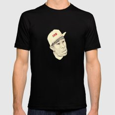 Tyler SMALL Black Mens Fitted Tee