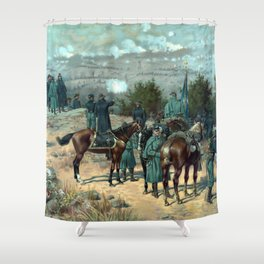Missionary Ridge -- The Battle Of Chattanooga Shower Curtain