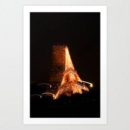 La Tour Eiffel IV Art Print