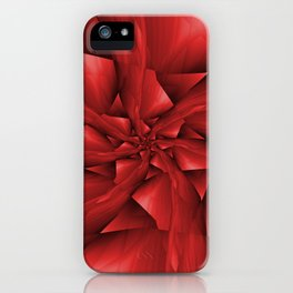 Red Spiral Arms iPhone Case