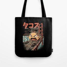 The Black Takaiju Tote Bag