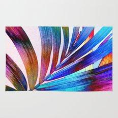 Multicolor Palm Leaf Rug