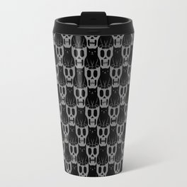 Skulls & Cats Dark Travel Mug