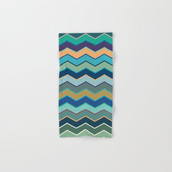 Colorful Wave II Hand & Bath Towel