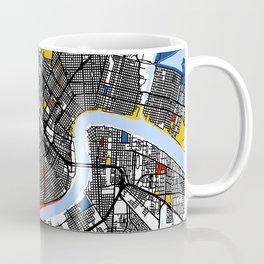 New orleans Mondrian Coffee Mug