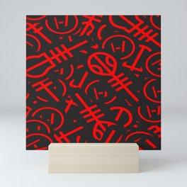TØP Stickers - Red Mini Art Print