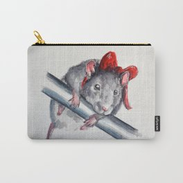 Rat in a bow Carry-All Pouch
