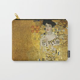 Gustav Klimt - Portrait of Adèle Bloch Bauer Carry-All Pouch