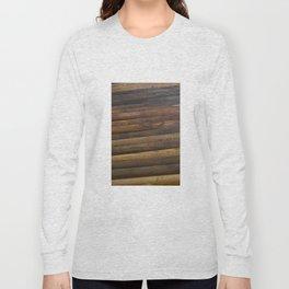 Wooden baseball bats Long Sleeve T-shirt