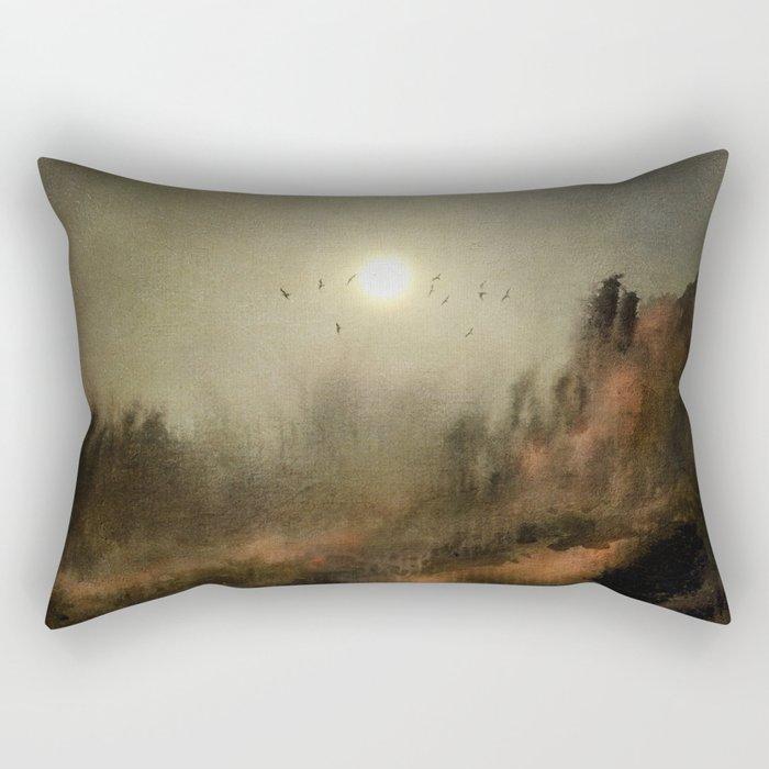 Calling The Sun Rectangular Pillow