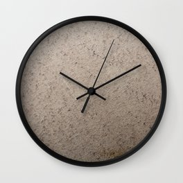 Clay Sandstone Wall Clock