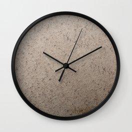 Clay Sandstone Wall Clock