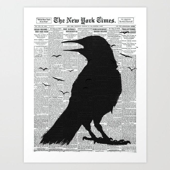 New York Ravin 02 Art Print