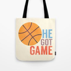 He Got Game Tote Bag