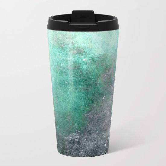 Abstract X Metal Travel Mug