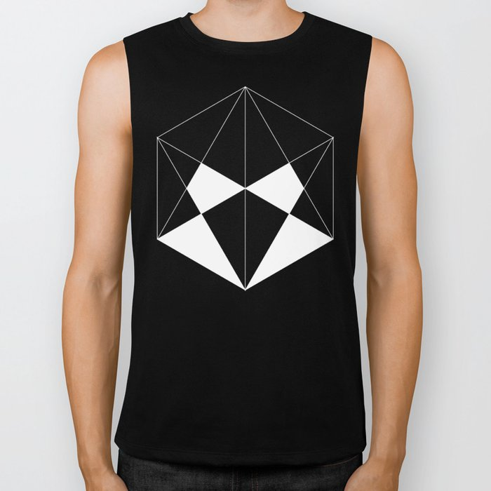 Hexagon Biker Tank