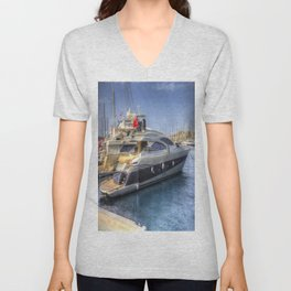 Pershing 90 Yacht Unisex V-Neck