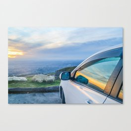 Reflections of a Sunset Canvas Print