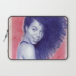 Beneath the cherry blossoms Laptop Sleeve