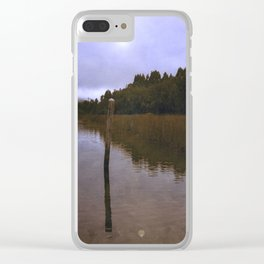 The Forest 02 Clear iPhone Case