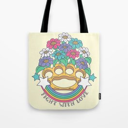 Fight with Love Tote Bag