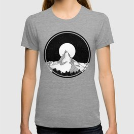 Matterhorn Black and White T-shirt
