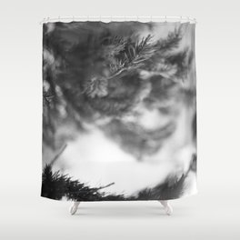 That Day in the Mountains  Shower Curtain