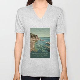 Bruce Peninsula National Park Unisex V-Neck
