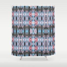 American Ikat Shower Curtain