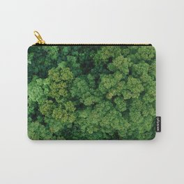 Greenery Forest (Color) Carry-All Pouch