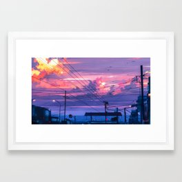 From This Moment Framed Art Print