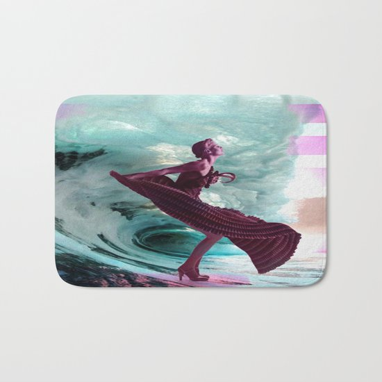 If you're not making waves, you're not underway Bath Mat