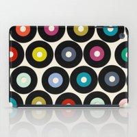 vinyl iPad Cases featuring VINYL by Sharon Turner