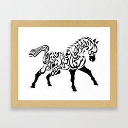 Proud Horse Framed Art Print